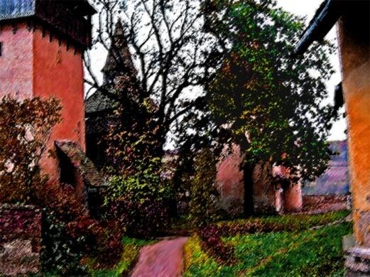 Biertran Citadel, Transylvania