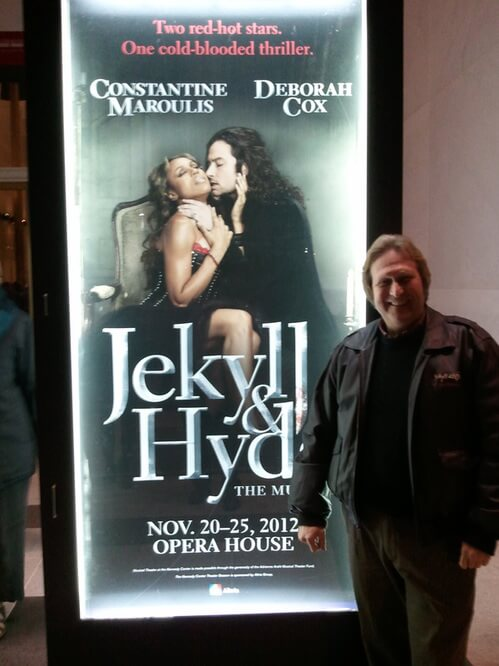 Steve Cuden at Jekyll and Hyde Marquis and New York
