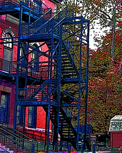 Wightman Fire Escape